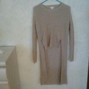 Xhilaration long sweater, XS